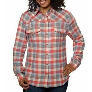 Jach's Girlfriend Junior XXL Plaid Shirt